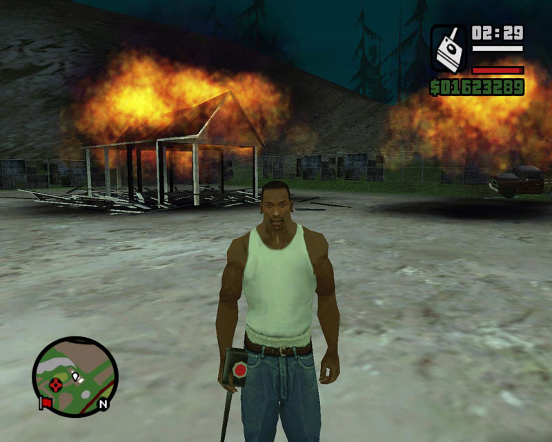 ���� ��� GTA San Andreas ������� ���������