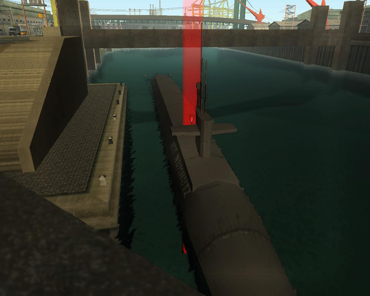 как в гта сан андреас найти подводную лодку на карте